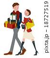 ショッピング 買い物 プレゼントのイラスト 18727519