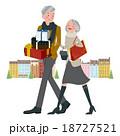 ショッピング 買い物 プレゼントのイラスト 18727521