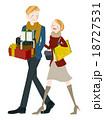 ショッピング 買い物 プレゼントのイラスト 18727531