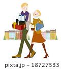 ショッピング 買い物 プレゼントのイラスト 18727533