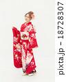 着物 女性 振袖の写真 18728307