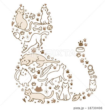 手書き猫セット