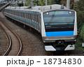 電車 京浜東北線 列車の写真 18734830