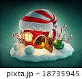 クリスマス xマス おとぎ話のイラスト 18735945