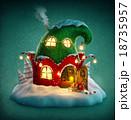 クリスマス xマス 冬のイラスト 18735957