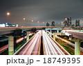 首都高速 辰巳ジャンクション 光跡の写真 18749395