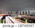 首都高 辰巳ジャンクション 都市風景の写真 18749397