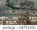 神奈川県の根岸線根岸駅付近を空撮 18752401