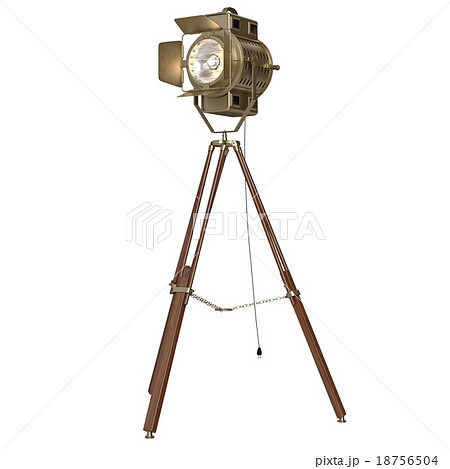 Studio spotlight floor lamp wooden tripod 18756504 studio spotlight floor lamp wooden tripod mozeypictures