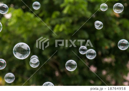 Beautiful soap bubble abstract backgrounds 18764958