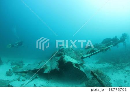 チューク諸島(トラック諸島) 竹島 一式陸上攻撃機 沈船 18776791