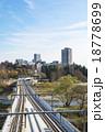 高架橋 ビル群 仙台市の写真 18778699