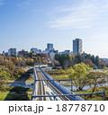 高架橋 ビル群 仙台市の写真 18778710