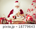 Santa Claus at home 18779643