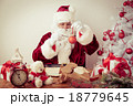 Santa Claus at home 18779645
