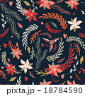 Seamless background pattern Christmas New Year  18784590