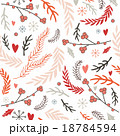 Seamless background pattern Christmas New Year  18784594
