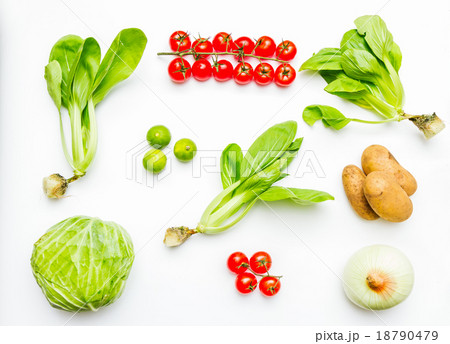 Vegetables for cooking and healthy.の写真素材 [18790479] - PIXTA