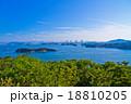 瀬戸内海と瀬戸大橋 18810205