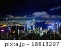 香港 ビクトリアピークから望む100万ドルの夜景 18813297