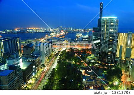 神戸街夜景 18813708