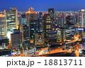 大阪街夜景 18813711