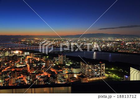 大阪街夜景 18813712