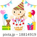 女の子の誕生日 18814919
