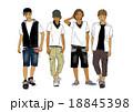 男の子達のスタイル画 18845398
