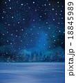 Vector winter background. 18845989