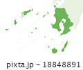 日本地図 18848891