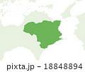 日本地図 18848894