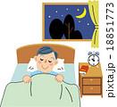 就寝 おやすみ 18851773
