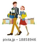 ショッピング 買い物 プレゼントのイラスト 18858946