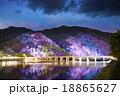 嵐山花灯路 渡月橋 18865627