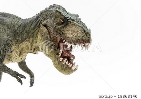 ティラノサウルスのおもちゃの写真素材 18868140 Pixta