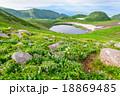 山 鳥海山 鳥海湖の写真 18869485