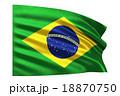 ブラジル国旗 18870750