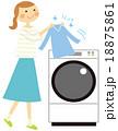 洗濯 奥さん 18875861