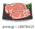 肉イラストA 18876415