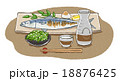 日本酒 ベクター 和食のイラスト 18876425