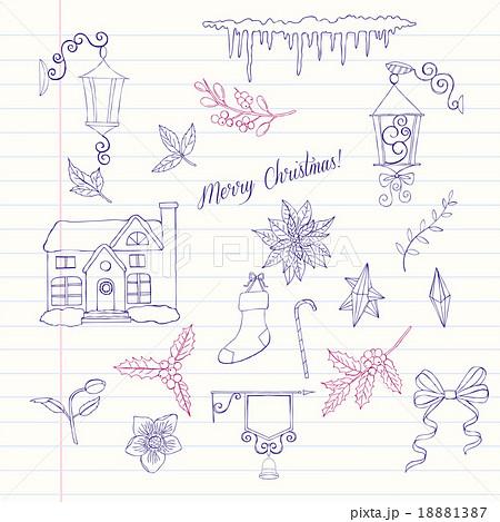 Christmas decoration set 18881387