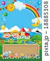 幼稚園 園児募集 ポスターのイラスト 18885308