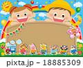 幼稚園 園児募集 ポスターのイラスト 18885309