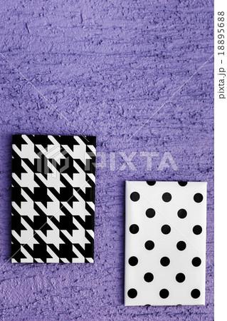 Black and White Geometric Canvasesの写真素材 [18895688] - PIXTA