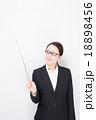 女性 眼鏡 ビジネスウーマンの写真 18898456