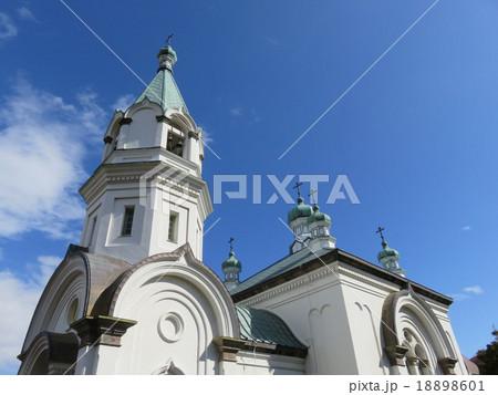 ビザンチン建築 函館ハリストス正教会の写真素材 [18898601] - PIXTA