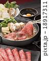 すき焼き 牛すき 牛鍋の写真 18917311
