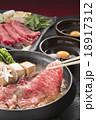 すき焼き 牛すき 牛鍋の写真 18917312