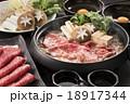 すき焼き 牛すき 牛鍋の写真 18917344